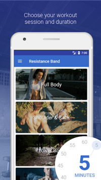 Resistance Bands by Fitify APK screenshot 1