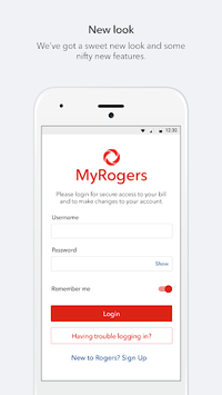 MyRogers APK screenshot 1