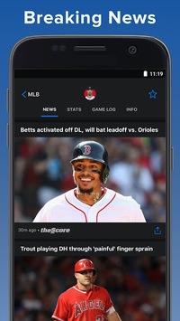 theScore: Live Sports Scores, News, Stats & Videos APK screenshot 1