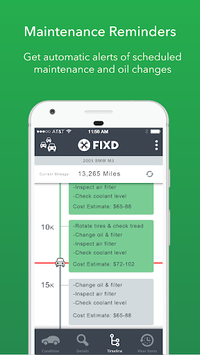 FIXD - Vehicle Health Monitor APK screenshot 1