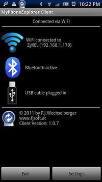 MyPhoneExplorer Client APK screenshot 1