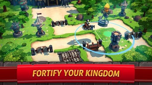 Royal Revolt 2: Tower Defense RPG and War Strategy APK screenshot 1