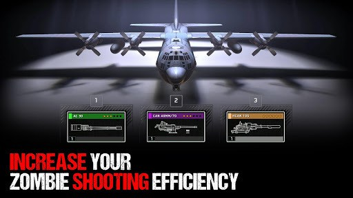 Zombie Gunship Survival APK screenshot 1
