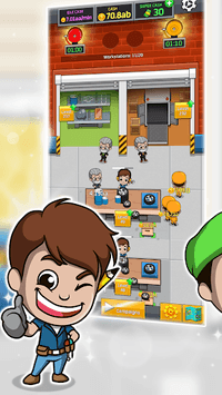 Idle Factory Tycoon APK screenshot 1