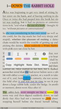 Moon+ Reader APK screenshot 1