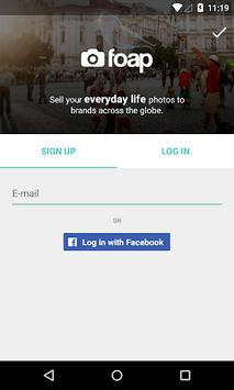 Foap - sell your photos APK screenshot 1