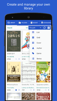 Librera - Book Reader of all formats & PDF Reader APK screenshot 1