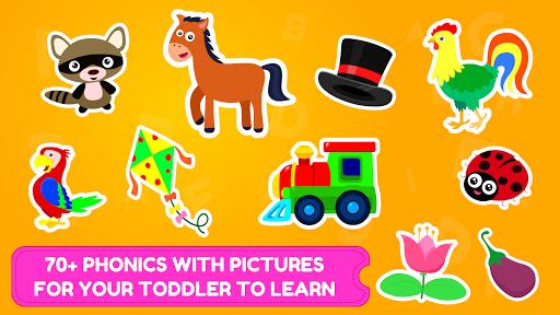ABC Tracing & Phonics Game for Kids & Preschoolers APK screenshot 1