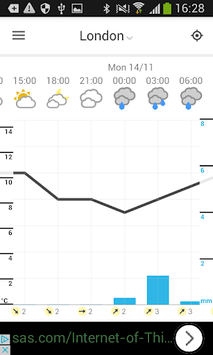 Foreca Weather APK screenshot 1