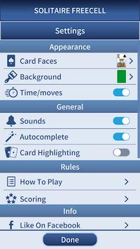 FreeCell Solitaire Classic APK screenshot 1
