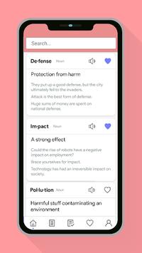 Vocabulary Builder - Learn words & Improve English APK screenshot 1