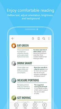 Foxit MobilePDF  - PDF Reader Editor APK screenshot 1