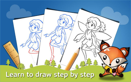 How to Draw Step by Step Drawing App APK screenshot 1