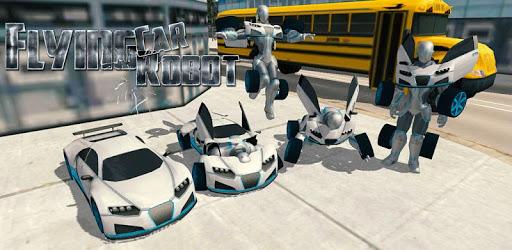 Flying Car Robot Flight Drive Simulator Game 2017 pc screenshot