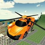 Flying Rescue Helicopter Car icon
