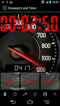 Stopwatch & Timer with Voice Notify APK screenshot 1