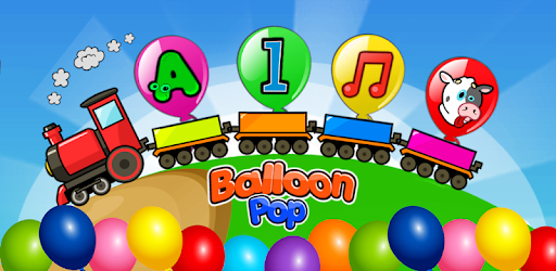 Balloon Pop Kids Learning Game Free for babies 🎈 pc screenshot