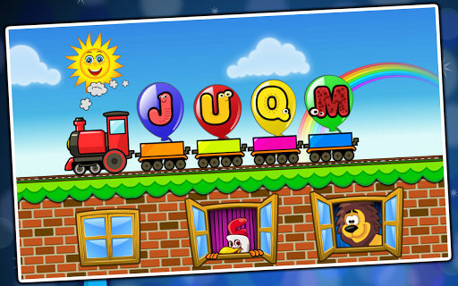 Balloon Pop Kids Learning Game Free for babies 🎈 APK screenshot 1