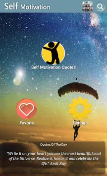 Self Motivation Quotes APK screenshot 1