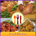 Fried Chicken Recipes Book icon