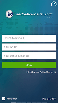 Free Conference Call APK screenshot 1