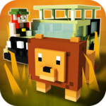 Africa Craft: City Building & Savanna Safari Games icon