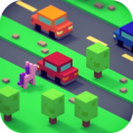 Crossy Hoppers: Road Jump Game FOR PC