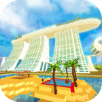 Singapore Craft: Asian Crafting & Building Game icon