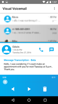 FreedomPop Visual Voicemail APK screenshot 1