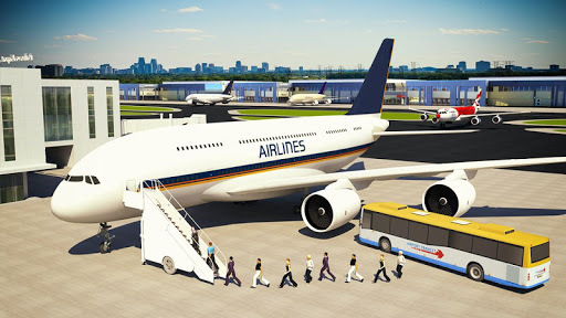 Flight Simulator 3D: Airplane Pilot APK screenshot 1