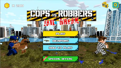 Cops Vs Robbers: Jailbreak APK screenshot 1