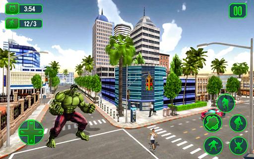 Incredible Super Hero City Rampage-Battle Revenge APK screenshot 1