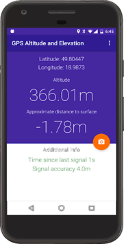 My Altitude and evaluation - GPS APK screenshot 1