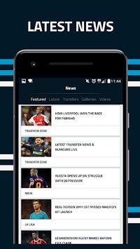 Goal.com APK screenshot 1