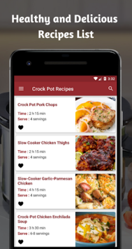 Crock Pot Recipes : Tasty Crockpot Recipe App APK screenshot 1