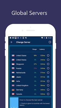 Free VPN Unlimited Proxy - Proxy Master APK screenshot 1