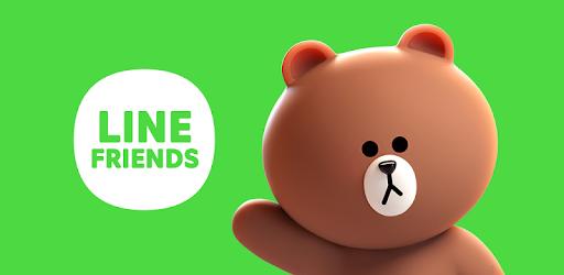 LINE FRIENDS - characters / backgrounds / GIFs pc screenshot