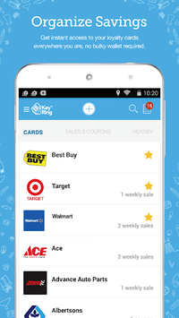 Key Ring: Cards Coupon & Sales APK screenshot 1