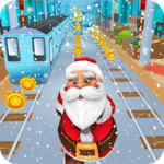 Subway Santa Run icon