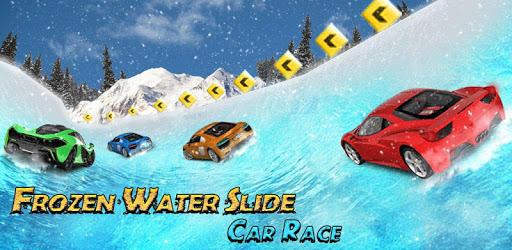 Frozen Water Slide Car Race; Aqua Park adventure pc screenshot