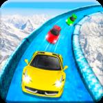 Frozen Water Slide Car Race; Aqua Park adventure APK icon