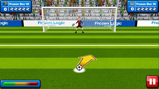 Soccer Penalty Kicks APK screenshot 1