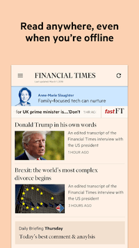Financial Times APK screenshot 1