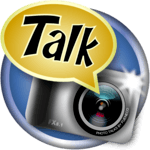Photo talks: speech bubbles icon