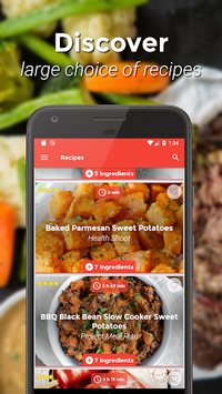 Food Network - Recipes, nutrition, shopping list APK screenshot 1