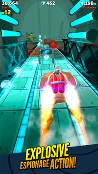 Agent Dash: The Running Spy APK screenshot 1