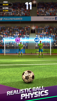 Flick Soccer 19 apk screenshot