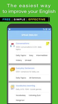Speak English Fluently APK screenshot 1