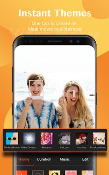 Video Maker of Photos with Music & Video Editor APK screenshot 1