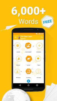 Learn German Vocabulary - 6,000 Words APK screenshot 1
